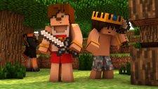 Köylüler Korkuttu ! Lord Of Mınecraft Geri Dönüş !  Minecraft Evi