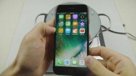 İphone 7'ye Sıcak Su Testi