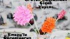 Kağıttan Kıvırcık Çiçek Yapımı