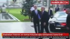 Başbakan Yıldırım ve Kemal Kılıçdaroğlu Görüşmesi Sona Erdi