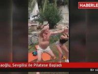Ali Ağaoğlu'nun Sevgilisi İle Pilates Yapması