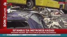 İstanbul'da Metrobüs Kazası - Görgü Tanıklarının İfadesi Ve Olay Yeri Görüntüleri 23 Eylül 2016