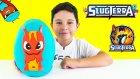 Slugterra Oyun Hamuru Dev Sürpriz Yumurta Açma - Oyuncak Abi