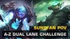 Dota 2 A-Z Dual Lane Challenge - Arc Warden & Underlord (SUNSfan PoV)