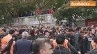 Sarı-kırmızılı Taraftarlar Polis Kontrolünde Stada Götürülecekleri Alana Alındı