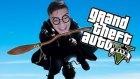 Harry Potter'ın Uçan Süpürgesi - Gta V Modları - Burak Oyunda