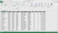 2 Tablo Özellikleri HD Excel 2013 İleri Eğitim