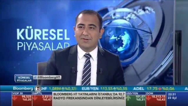 23.09.2016 - Bloomberg HT - Küresel Piyasalar - Araştırma Müdürü Dr. Tuğberk Çitilci
