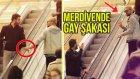 Merdivende GAY ŞAKASI ! Youtuber Challenge #3 (EYLÜL ÖZTÜRK)