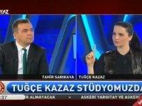 Tuğçe Kazaz'ın Televizyon Kurması