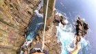 32 Metre Yükseklikte Slackline Yapan Korkusuz Adam