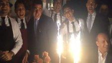 Roma, 40 yaşına giren Totti'nin doğum gününü kutladı.