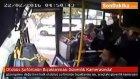 Otobüs Şoförünün Bıçaklanması Güvenlik Kamerasında!