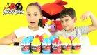 Angry Birds Sürpriz Yumurta Açma Red Vs. Chuck OyuncaX TV Melike & Kerem - Oyuncak Abi