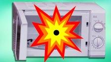 Konmaması Gereken 3 Şeyi Mikrodalgaya Koyduk - Oha Diyorum