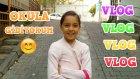 VLOG - Buda Okula Giderken Çektiğimiz Videomuz Yavru Kediler Buldum :)