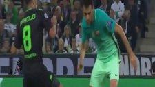 Mönchengladbach 1-2 Barcelona (Maç Özeti - 28 Eylül 2016)