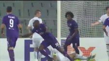 Fiorentina 5-1 Qarabag (Maç Özeti - 29 Eylül 2016)