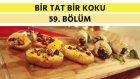Ispanaklı Rulo Tavuk & Bademli Barfi & Kırmızı Lahana Salatası | Bir Tat Bir Koku
