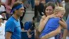 Rafael Nadal Çocuğunu Kaybeden Kadına Yardım İçin Maçı Durdurdu