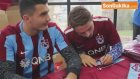 Trabzonsporlu Futbolculardan İmza Günü
