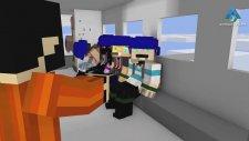 Youtuberlar Okulu: Paraşütle Atlama - Minecraft Animasyon
