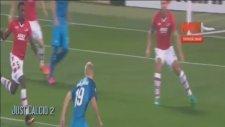 Zenit 5-0 AZ Alkmaar (Maç Özeti - 29 Eylül 2016)
