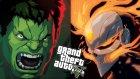 Ghost Rıder Vs Hulk! - Gta V Modları - Burak Oyunda
