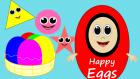 Şekilleri Öğreniyorum | Şekiller | Eğitici Çizgi Film | Mutlu Yumurtalar