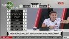 Adriano'nun son dakika golü BJK TV spikerlerini coşturdu