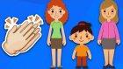 Anneni Seviyorsan Alkışla - Akrabaları Öğreten 5 Alkışla Şarkısı - Afacan