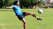 Dişi Ronaldinho Taraftarı Büyüledi