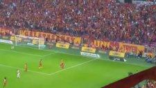Galatasaray 3 - 1 Antalyaspor (2 Ekim 2016) | Gol: Podolski (Tribün Çekimi)