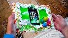 İphone 7 Doğum Günü Pastası İçerisinde Fırlatılırsa