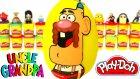 Uncle Grandpa Sürpriz Yumurta Oyun Hamuru - Emoji Monster High Cicibiciler Lps