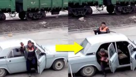Rusya'da Sıradan Bir Günde 17 Kişi İşe Giderken Tek Bir Araçta