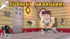 Minecraft TUVALET SAVAŞLARI! - TTO vs AHMET AGA