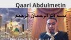 Hafız Metin Demirtaş. Mısır ağzı, Şeyh Abdussamed makamı Besmele i Şerif. BİSMİLLAHİRRAHMÂNİRRAHÎM