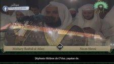 Mishary Rashid Al Afasy - Necm Sûresi Ve Meali [2010 Yılı Kıraatı]