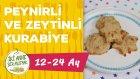 Peynirli Ve Zeytinli Kurabiye Nasıl Yapılır? (12-24 Ay) | Bebek Kahvaltısı | İki Anne Bir Mutfak