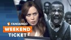 The Girl on a Train, The Birth of a Nation, Middle School   Weekend Ticket