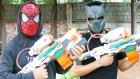 Nerf Kapışması Oyuncak Abi Vs Black Panther Modulus Tri Strike Oyuncak Silah