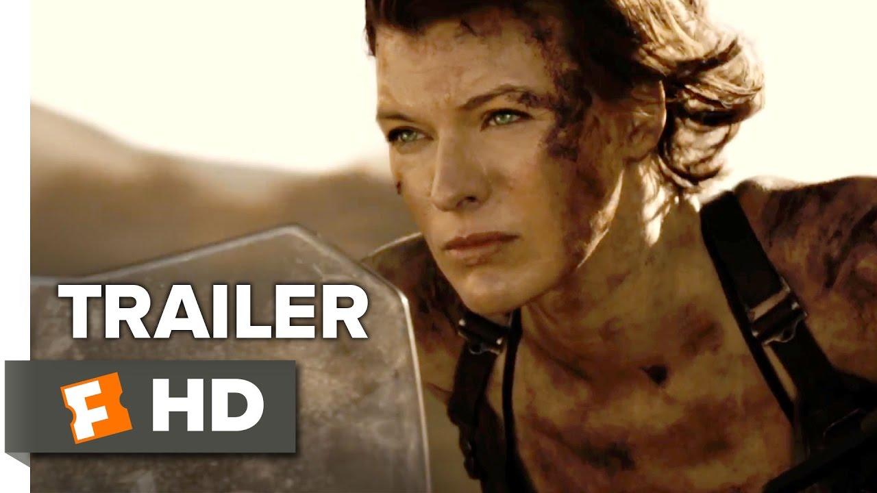 Milla Jovovich Ruby Rose Resident Evil The Final Chapter: Resident Evil: The Final Chapter Official Trailer 2 (2017