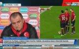 Fatih Terim'in NTV'ye Gönderme Yapması