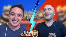 Rozetmen İle Bilmediğim Destede Savaştım Clash Royale