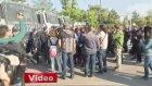 Ankara'da Polise Taşla Saldıran Gruba Müdahale