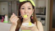 3 Malzemeli Japon Cheesecake -  Yemek Tarifleri