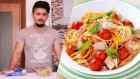 Hızlı kas gelişimi için protein diyeti: Ton Balıklı Makarna