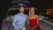Renkli Lazerle Yatta Evlilik Teklifi Sürprizler Diyarı