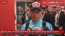 Emre Mor Hertha Berlin Mac?ının 83 Dakikasında Direkt Kırmızı Kart Gördü?